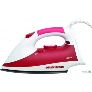 Black & Decker Power Steam Iron with Non-stick soleplate and Spray, X750R-B5
