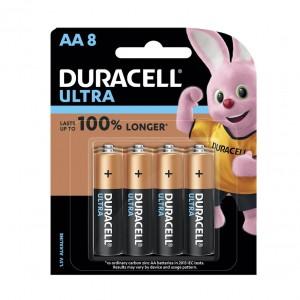 Duracell ULTRA AA Battery 8Pcs