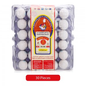 Al Jazira Golden Eggs Large Tray - 30 Pieces