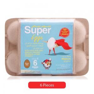 Al Jazira Super Fresh Brown Egg - 6 Pieces
