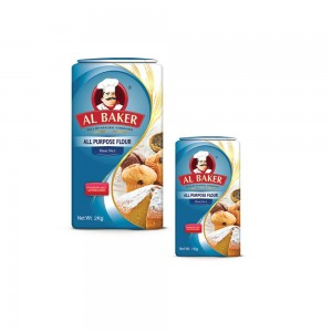 Al Baker All Purpose Flour - 2 kg and Al Baker All Purpose Flour - 1 kg