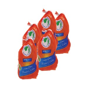 Al Watania Frozen Chicken - 5x600gm