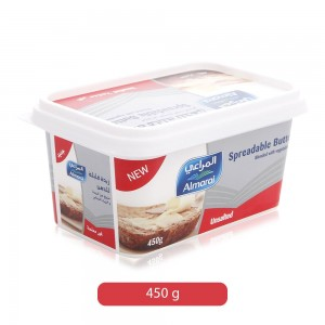 Almarai Spreadable Unsalted Butter - 450 g