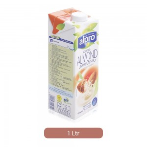 Alpro Roasted Almond Unsweetened Fresh Drink - 1 Ltr