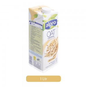Alpro Soft & Natural Oat Milk Drink - 1 Ltr