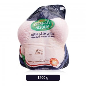 Alyoum Vaccum Packed Premium Fresh Chicken - 1200 g