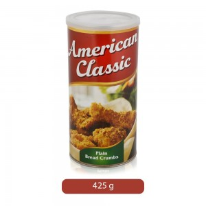 American Classic Plain Bread Crumbs - 425 g