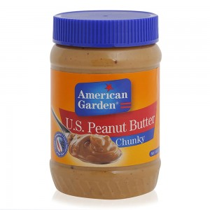 American Garden Peanut Chunky Butter - 510 g
