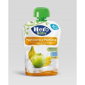 Hero Baby Apple Banana Pouch, 100 gm