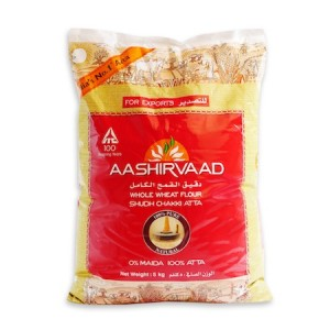 Aashirvaad Whole Wheat Flour Shudh Chakki Atta - 5 kg