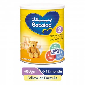 Bebelac 2 Follow on Milk, 400g