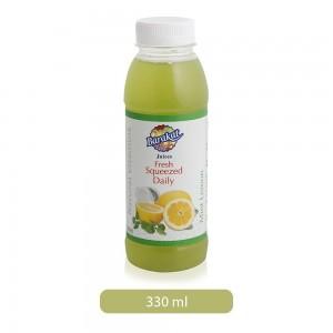 Barakat Mint Lemon Fresh Squeezed Daily Juice - 330 ml