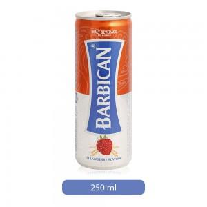 Barbican Strawberry Flavor Soft Drink - 250 ml