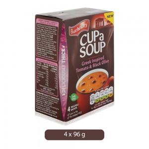 Batchelors Tomato & Black Olive Cup a Soup - 96 g, 4 Pieces