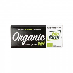 "BIOFARM 10"" Organic Eggs"