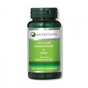 Calcium Magnesium&Zi Tabs100'S