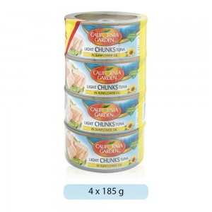 California-Garden-Light-Chunks-Tuna-In-Sunflower-Oil-4-185-g_Hero
