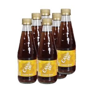 Canada Dry Cream Soda  - 6 x 330 ml