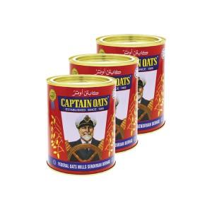 Captain Oats Tin - 3x500gm