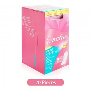 Carefree-Normal-Cotton-Extract-Pantyliners-20-Pieces_Hero