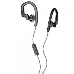 Skullcandy Chops Flex In Ear Headset Hanger With Mic Black/Gray S4CHY-K456