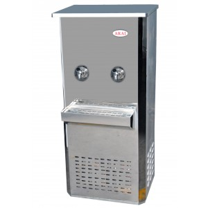 AKAI 65G STAINLESS STEEL WATER COOLER 3 TAP