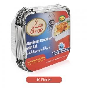 Co-Op-Aluminum-Heavy-Duty-Lid-Container-10-Pieces_Hero