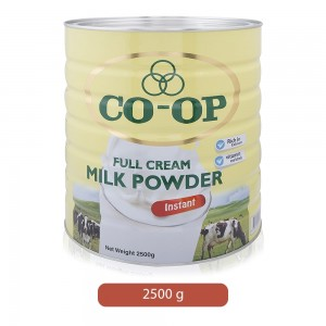 Co-op Full Cream Milk Powder - 2500 g
