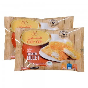 Co-Op Breaded Chicken Fillet, 2 x 400 gm