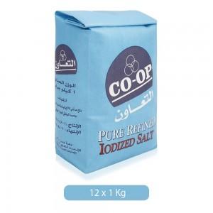 Co-Op Pure Refined Iodized Salt - 12 x 1 kg