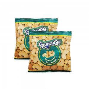 Crunchos Assorted Mixed Nuts 2x300gm