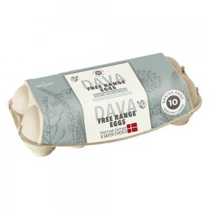 Dava Medium/Large  Free Range Eggs - 10's