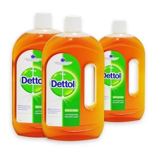 Dettol Anti Sceptic - 2x750ml+500ml