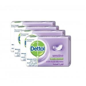 Dettol Senitive Soap 4X165Gm