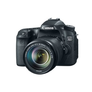 Canon SLR Camera EOS 70D EF-S 18-135mm IS STM Kit