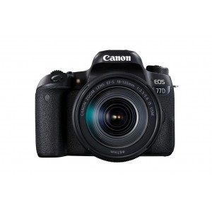 Canon EOS 77D 24.2MP DSLR Camera With 18-135mm IS STM Lens Kit