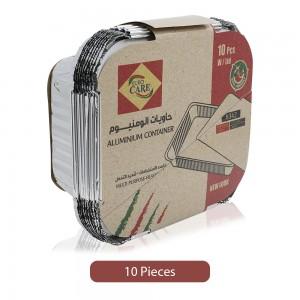 Euro-Care-Square-Multi-Purpose-Aluminium-Lid-Container-10-Pieces_Hero