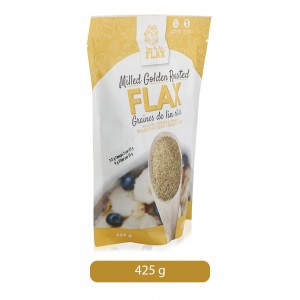Fee-Fi-Fo Flax Milled Golden Roasted Flax - 425 gm