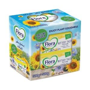 Flora Margarine Buttery Tast - 2 x 500 gm