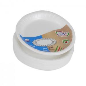 "Euro Care Foam Plate 10"" 25S"