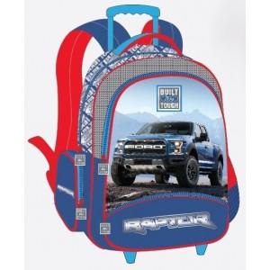 Ford Truck School Bag Trolley FT01-1116T