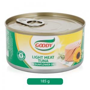 Goody Light Meat Tuna In Sunflower Oil - 185 gm