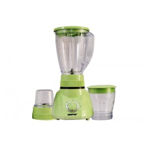 Geepas 3 In 1 Blender 1.6 liters, GSB1514N