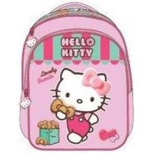 "Hello Kitty School Bag 13"" Sweet Store BackPack  HK308-1091"
