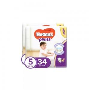 Huggies Pants(5) - 2x34's