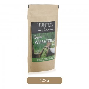 Hunter's Gourmet Organic Wheat Grass powder, 125 gm