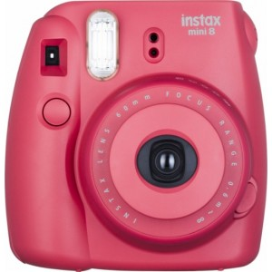 Fujifilm Fujifilm Camera- 8Rasberry instax mini 8  RASBERRY