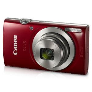 Canon Digital Camera IXUS 185 Red