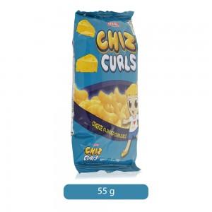Jack N Jill Chiz Curls Cheese Corn Snack - 55 gm