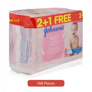 Johnson's-Gentle-All-Over-Baby-Wipes-168-Pieces_Hero